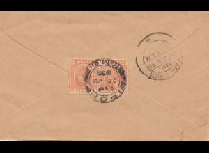 Malaysia: 1930 Ipoh to Karaikudi / India