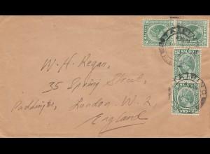 Malaysia 1937: Taiping to London