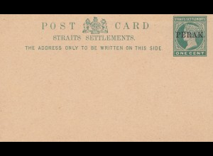 Malaysia: Perak - unused post card