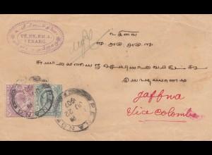 Malaysia: 1907: Penang via Colomba