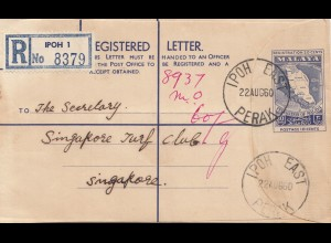 Malaysia: 1960: Ipoh registered to Singapore