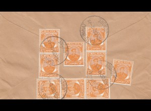 Malaysia: 1950: Batu Pahat/Johore to Dillenburg