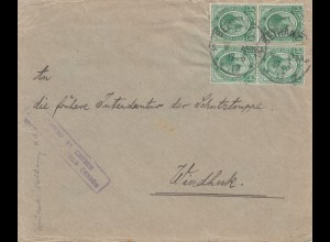 South Africa 1917: Bethany to Windhuk, censor