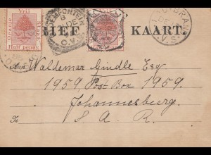 South Africa 1895: Ladybrand to Johannesburg