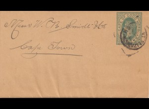South Africa 1938: Wrapper to Cape Town