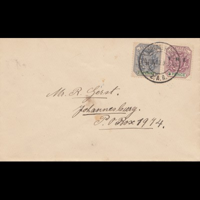 South Africa 1900: Johannesburg