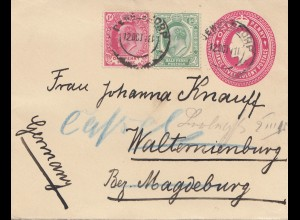 South Africa 1911: letter to Walternienburg