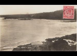 Kenya 192x: postcard Discovery of the Nile, Speke's stone to Offenbach