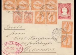 Uruguay 1904: Montevideo to Bremen