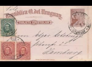 Uruguay 1911: Montevideo to Hamburg