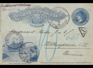 Uruguay 1905: Montevideo to Hildburghausen, Tax