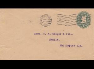 USA 1902: San Francisco to Manila/Philippine