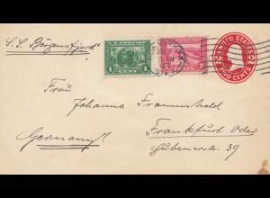 USA 1916: New York City to Frankfurt via S.S. Bergensfjord
