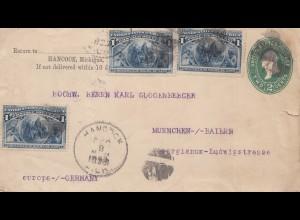 USA 1893: Hancook Michigan to München