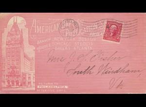 USA 1903: Philadelphia American Baptist Publications to Sourth Windham, Ut