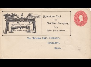USA 1903: Hyde Park, Mass to Neponset, Tool and Machine company