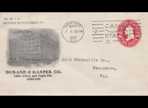 USA 1912: Chicago to to Fennimore, Wis