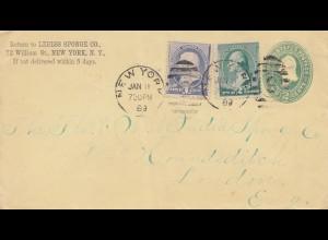 USA 1889: New York to London