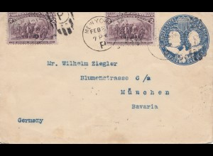 USA 1894: New York to München