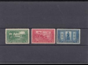 USA stamps #290-292, **, mnh