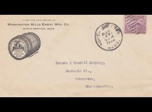 USA 1933: North Grafton, Mass to Worcester, Mills