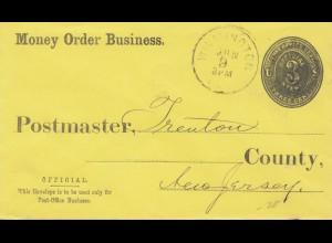 USA letter Wilminoton, Money Order