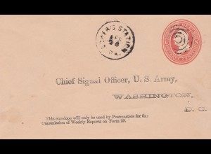 USA letter to Chief Signal Officer, US Army, Washingon