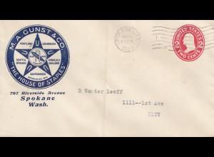 USA 1909: Spokane Wash, House of Staples