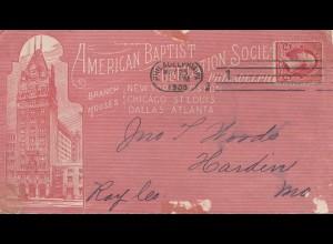 USA 1900: Philadelphia, American Baptist to Harden