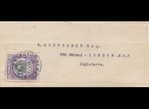 Venezuela 1917: letter Caracas to London