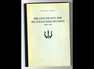 Geschichte der 170. Infanterie-Division 1939-45