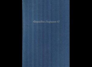 Grenadier-Regiment 47: Regimentsgeschichte