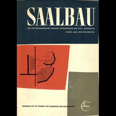 Buch: Saalbau Handbuch für die Planung von Saalbauten und Kulturzentren, 1959