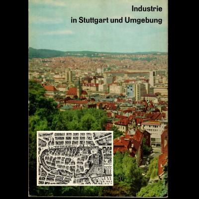 Buch: Industrie in Stuttgart und Umgebung, 1960, 200 Seiten