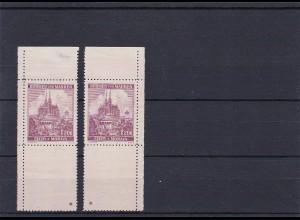 Böhmen & Mähren (B&M) **, postfrisch, MiNr. 29 Eckrand, Leerfeld, Stern