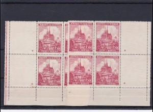 Böhmen & Mähren (B&M): postfrisch, Michel Nr. 30 Eckrand, Leerfeld, Stern