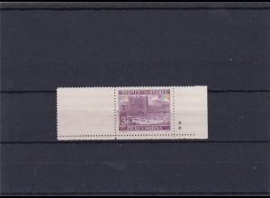 Böhmen & Mähren (B&M) **, postfrisch, MiNr. 33 , Leerfeld, Stern
