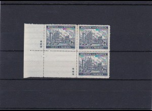 B&M **, postfrisch, MiNr. 34 , Leerfeld, Stern
