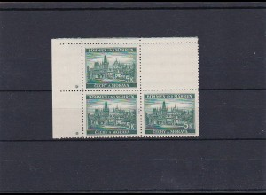 B&M **, postfrisch, MiNr. 35 , Leerfeld, Stern