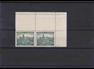 Böhmen & Mähren (B&M) postfrisch, MiNr. 35 , Leerfeld, Stern
