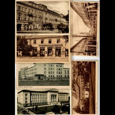 RIESEN Sammlung Ansichtskarten Generalgouvernement über 1300 verschiedene Stück