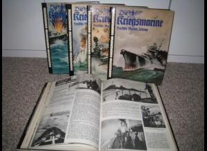 Dokumentation: Die Kriegsmarine - Marine Zeitung - 5 Bände !!!!