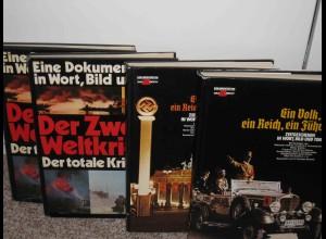 Der totale Krieg - Ein Volk ein Reich ein Führer - Dokumentation !!! 4 Bände
