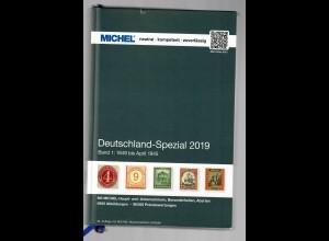 Michel Spezial 2019, Band 1 mit Wasserzeichen-Farbtafel