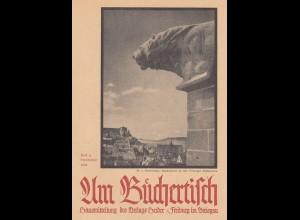 Ansichtskarte Tübinger Stiftskirche, Verlag am Büchertisch nach Freiburg