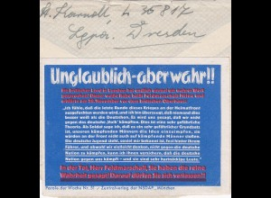 Parole der Woche: PdW: Nr. 51/1939 auf Ausschnitt FP Brief