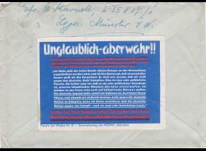 Parole der Woche: PdW: Nr. 51/1939 auf Feldpost Brief Nr. 35817