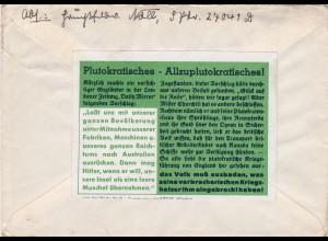 Parole der Woche: PdW: Nr. 31/1940 auf Feldpost Brief Nr. 27041