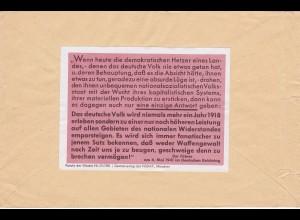 Parole der Woche: PdW: Nr. 21/1941 auf Brief aus Hainburg