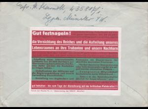 Parole der Woche: PdW: Nr. 12/1941 auf Feldpost Brief Nr. 43581